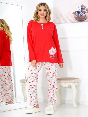 Pijama Dama Baki Hearts 02