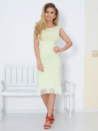 Rochie Macarena Lime 01