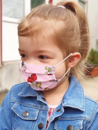 Set 5 Bucati de Masca Faciala pentru Fete 2-5 Ani