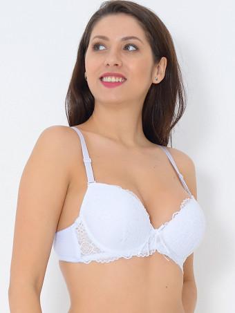 Sutien Cupa B 176 White