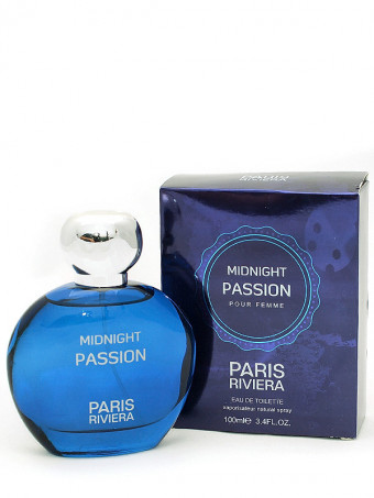 Apa de toaleta Midnight passion 19857, 100 ml