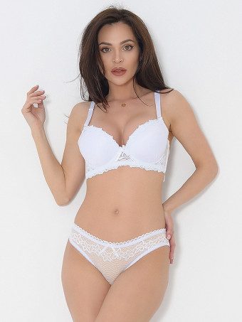 Compleu Sutien Cupa B si Chilot Normal 6640-01
