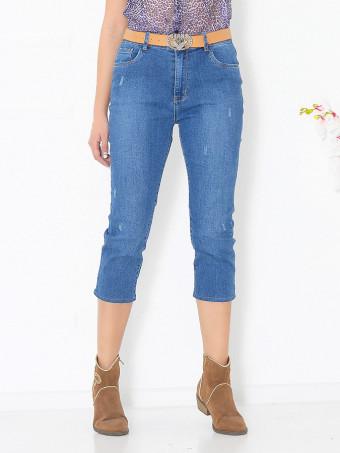 Pantaloni Dama Jeans Masura Mare ZL6507-02