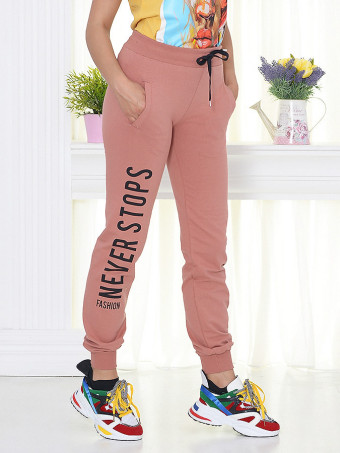 Pantaloni Sport 9052 Dark Rose