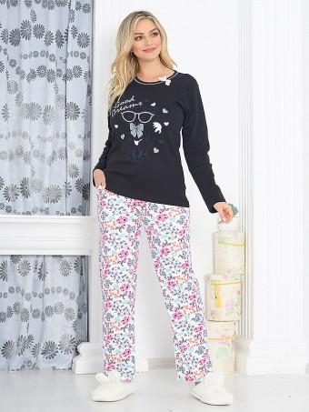 Pijama Dama Baki Dots 04