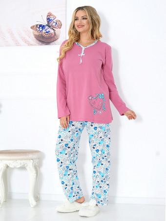 Pijama Dama Baki Hearts 05