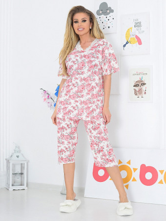 Pijama Dama Masura Mare Lally 3101-01