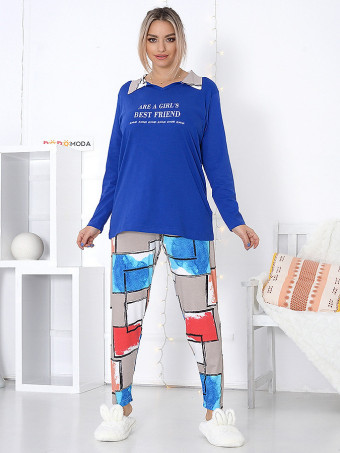 Pijama Dama Masura Mare MBLM 16058