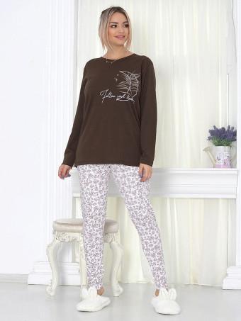 Pijama Dama Masura Mare MBLM 16072