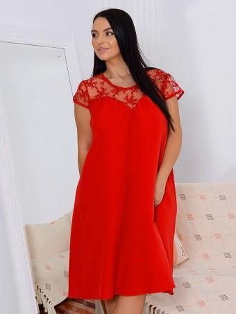Rochie Yesenia Red