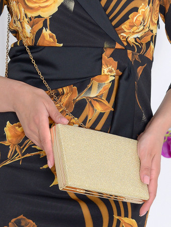 Clutch Glamour Gold