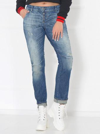 Pantaloni Jeans Masura Mare 58223-02