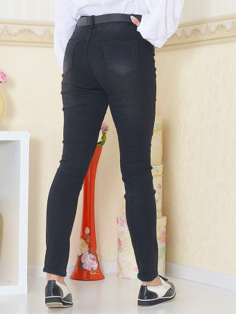 Pantaloni Jeans Masura Mare W9722