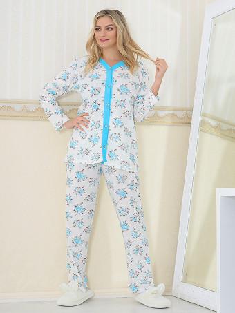 Pijama Dama Masura Mare Floris 07