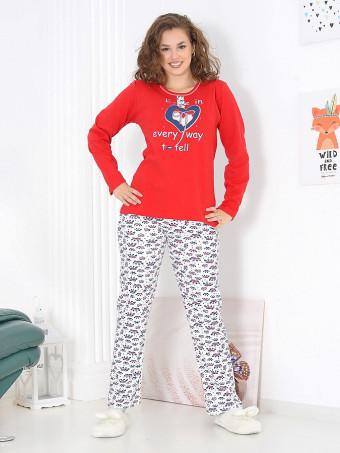 Pijama Groasa Baki 3066-05