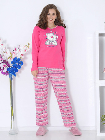 Pijama Groasa Baki 3099-03