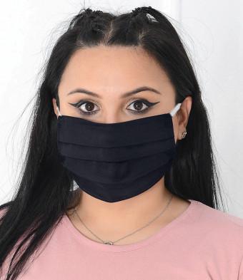 Set 15 Bucati de Masca Faciala Bumbac si TNT Black 2