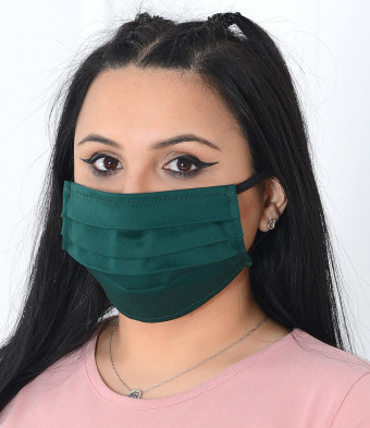 Set 50 Bucati de Masca Faciala Bumbac si TNT Green