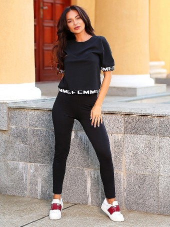 Trening Dama Fitness K2007 Black