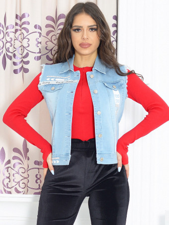 Vesta Dama Jeans 9393
