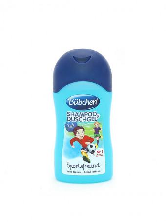 Bubchen Baby Shampoon si gel de dus baietei 45448, 50 ml