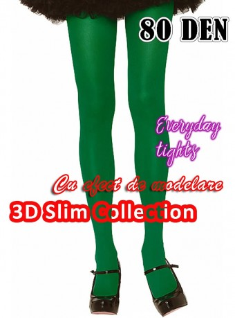 Dres 3D Slim 80 DEN Green