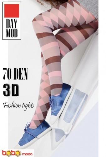 Dres DAYMOD Layla 3D 70 DEN Pink