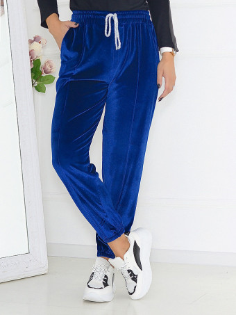 Pantaloni Din Catifea Masura Mare 06