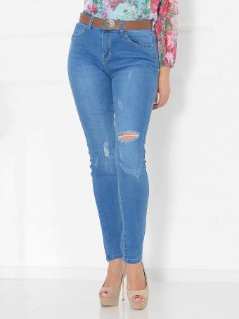 Pantaloni Jeans Masura Mare W9758
