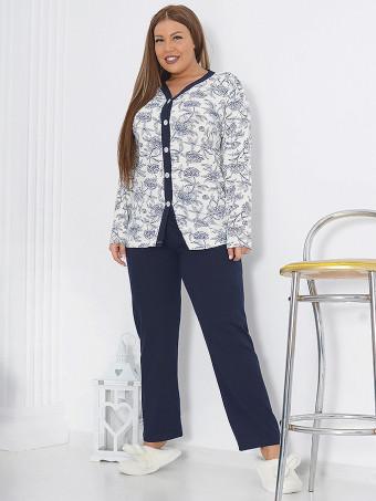 Pijama Dama Masura Mare NALG D04009