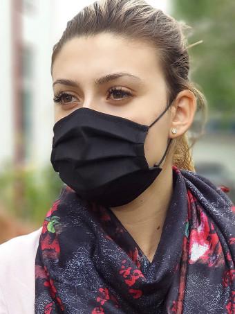 Set 5 Bucati de Masca Faciala pentru Adolescenti Black
