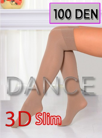 Sosete 5/6 Dance 3D 100 DEN Nude