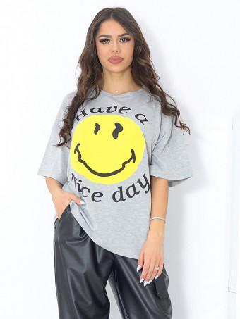 Tricou Masura Mare Smiley 02