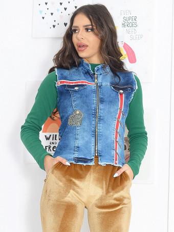 Vesta Dama Jeans 6112