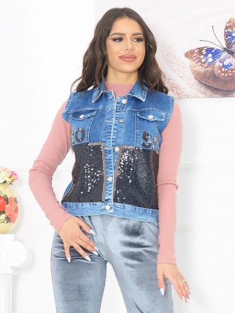 Vesta Dama Jeans 6182