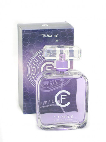 Apa de toaleta CF Purple 19806, 100 ml