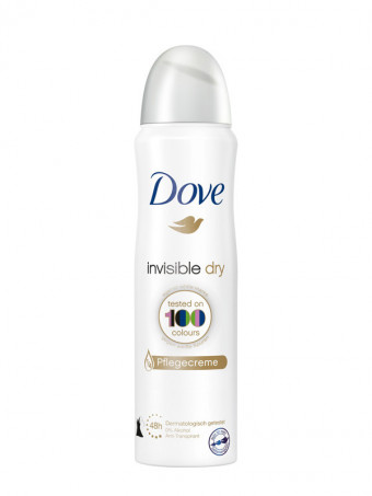 Deodorant Antiperspirant Dove Invisible Dry 3416-03, 150 ml