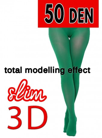 Dres 3D Slim 50 DEN Green