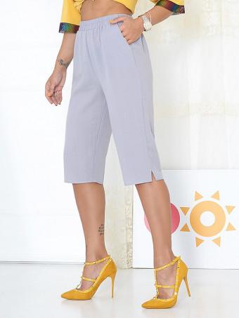 Pantaloni Capri Tina Grey