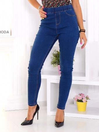 Pantaloni Dama Jeans 2348 Navy