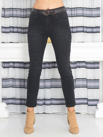 Pantaloni Dama Jeans Masura Mare ZN6303