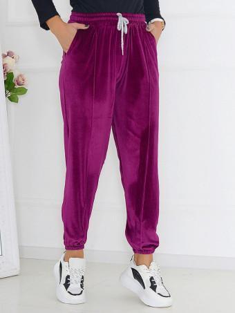 Pantaloni Din Catifea Masura Mare 01