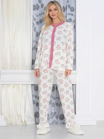 Pijama Dama Masura Mare Floris 08