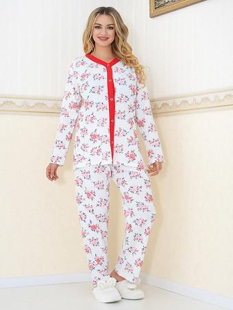 Pijama Dama Masura Mare Floris 11