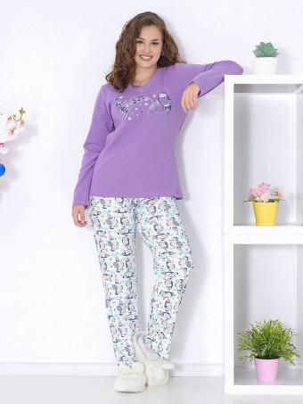 Pijama Groasa Baki 3041