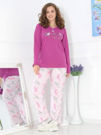 Pijama Groasa Baki 3043-01