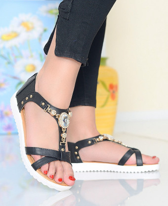 Sandale Glam Black