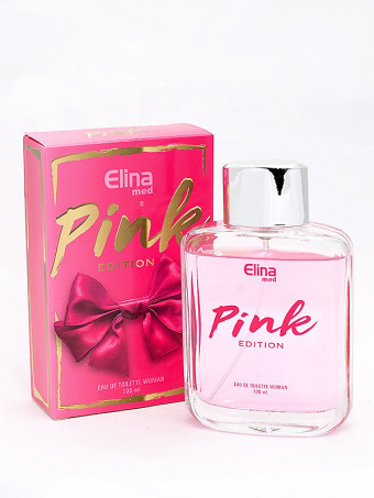 Apa de toaleta Elina Pink 19887, 100 ml