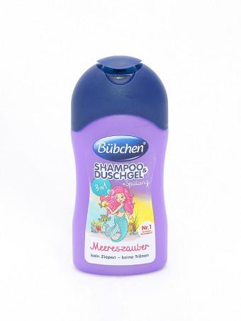 Bubchen Baby Shampoon si gel de dus sirena 52571, 50 ml