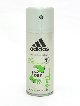 Deodorant Antiperspirant Adidas Cool&Dry 48 H 747, 150 ml
